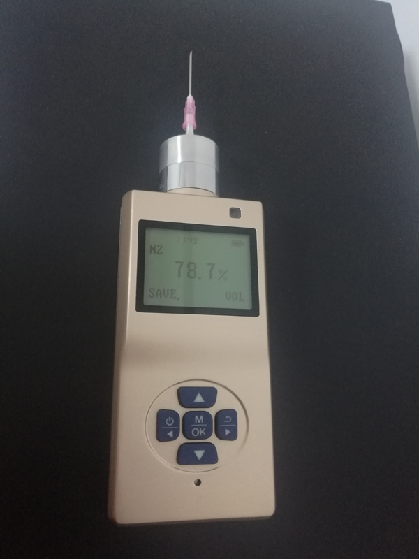 Customized N2 gas detector