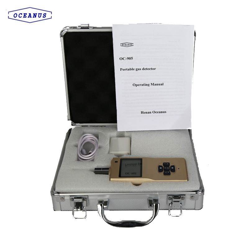 Portable CO2 gas detector