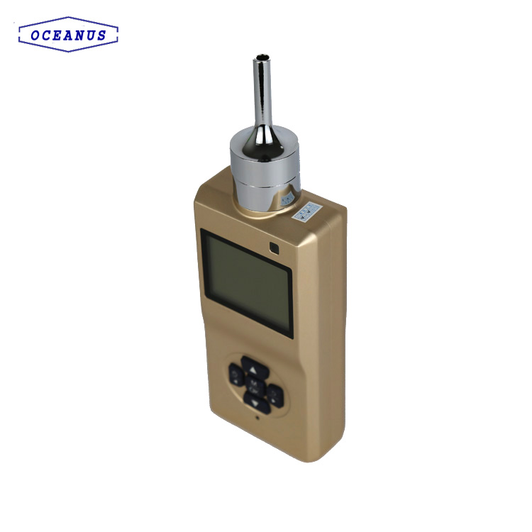 Portable CO2 gas alarm
