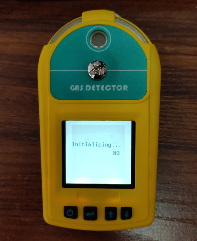 HCl gas leakage detector