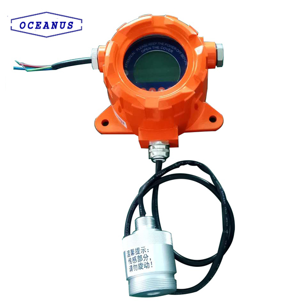 Mounted CO gas alarm