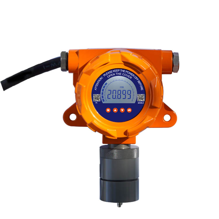 OC-F08 fixed gas detector with audible-visual alarm