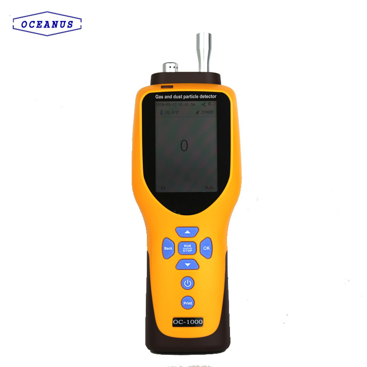 Portable gas detector for multi gas